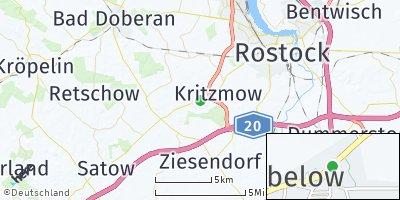 Google Map of Stäbelow