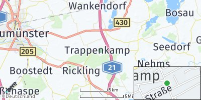 Google Map of Trappenkamp