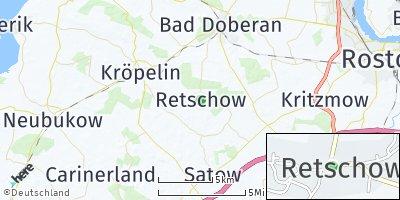 Google Map of Retschow