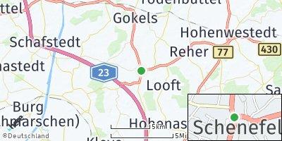 Google Map of Schenefeld