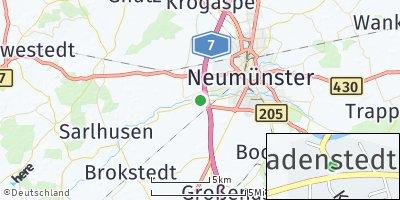 Google Map of Padenstedt