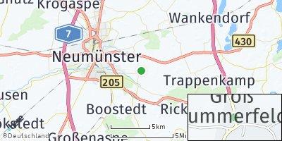 Google Map of Groß Kummerfeld