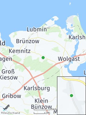 Here Map of Kühlenhagen