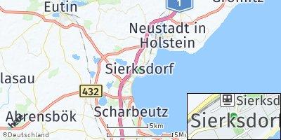 Google Map of Sierksdorf
