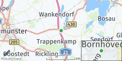 Google Map of Bornhöved