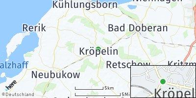 Google Map of Kröpelin