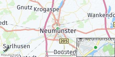 Google Map of Neumünster