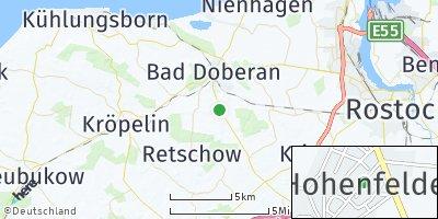 Google Map of Hohenfelde