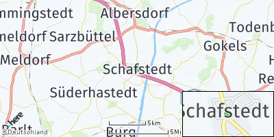 Google Map of Schafstedt