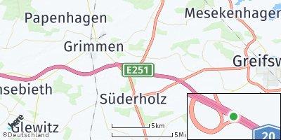 Google Map of Süderholz