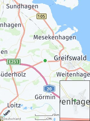 Here Map of Levenhagen