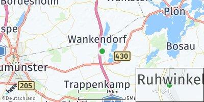 Google Map of Ruhwinkel