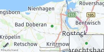 Google Map of Lambrechtshagen