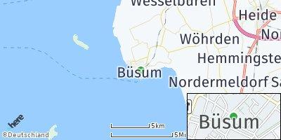 Google Map of Büsum