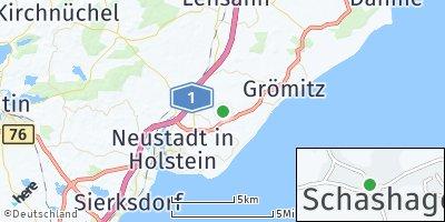 Google Map of Schashagen