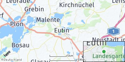 Google Map of Eutin