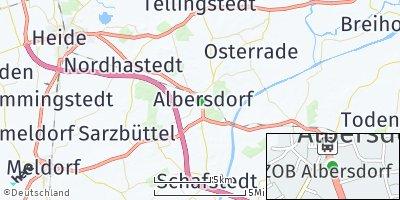 Google Map of Albersdorf