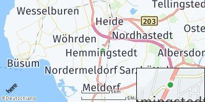 Google Map of Hemmingstedt