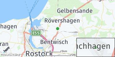 Google Map of Mönchhagen
