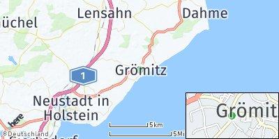 Google Map of Grömitz