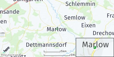 Google Map of Marlow