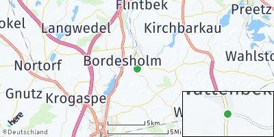 Google Map of Wattenbek