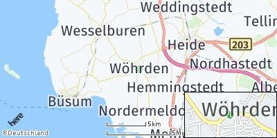 Google Map of Wöhrden