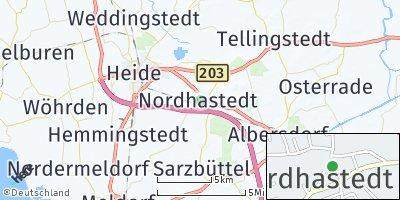 Google Map of Nordhastedt