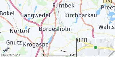 Google Map of Bordesholm