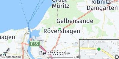 Google Map of Rövershagen