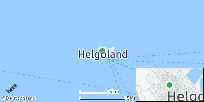 Google Map of Helgoland