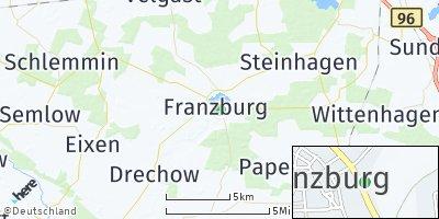 Google Map of Franzburg
