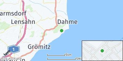 Google Map of Kellenhusen