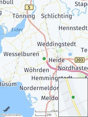 Here Map of Norderwöhrden