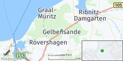 Google Map of Gelbensande