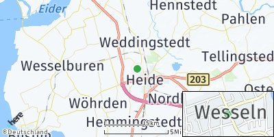 Google Map of Wesseln