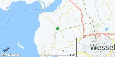 Google Map of Wesselburen