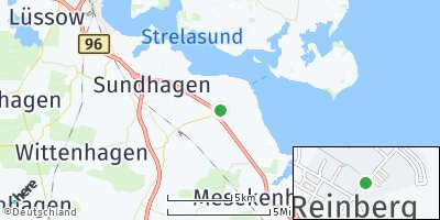 Google Map of Reinberg bei Grimmen