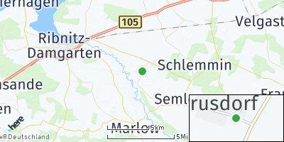 Google Map of Ahrenshagen-Daskow