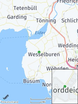 Here Map of Norddeich