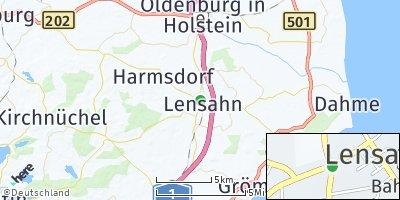Google Map of Lensahn