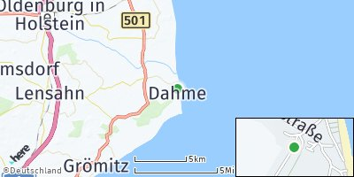 Google Map of Dahme