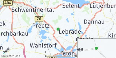 Google Map of Lehmkuhlen bei Preetz