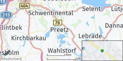 Google Map of Schellhorn bei Preetz