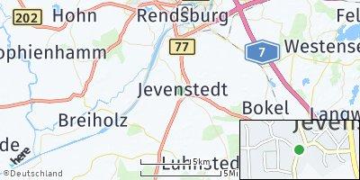 Google Map of Jevenstedt