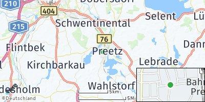 Google Map of Preetz
