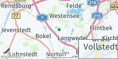 Google Map of Groß Vollstedt