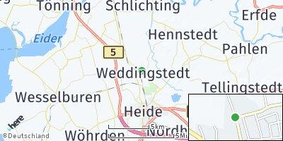 Google Map of Weddingstedt