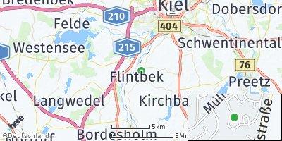 Google Map of Flintbek