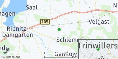 Google Map of Trinwillershagen
